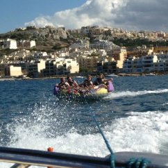 Crazy Sofa Ride Covers In Karachi At Oh Yeah Water Sports Picture Of Malta