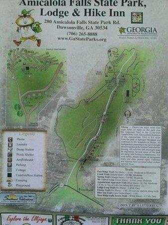 Amicalola Falls Map : amicalola, falls, Picture, Amicalola, Falls, State, Park,, Dawsonville, Tripadvisor