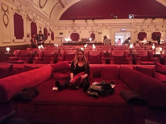 east london sofa cinema diy sectional bed in front row cosy can se stay picture of electric