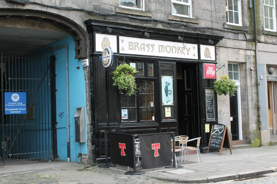 The Brass Monkey Edinburgh  14 Drummond St Old Town
