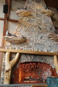 first floor of fireplace loft suite - Picture of Great ...