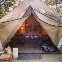The safari tent - Picture of El Capitan Canyon, Santa ...