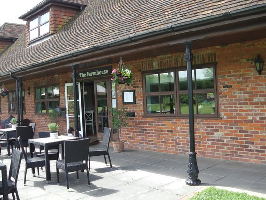 Rustic Picture Of The Farmhouse Cafe Guildford