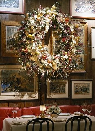 Christmas Decorations In The Dining Area Picture Of 1789
