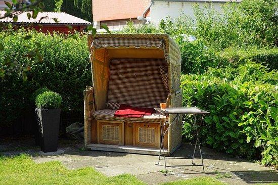 Strandkorb Garten Bild Von F Ritz Hotel Schleswig TripAdvisor