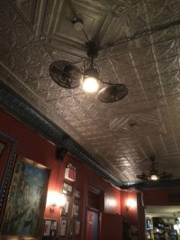 Unique ceiling fans - Picture of Lazzara's Pizza Cafe, New ...