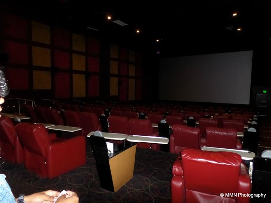 Comfort awaits  Picture of AMC DineIn Theatres Menlo