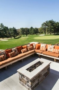 Tavola Outdoor Dining and Fire Pit Lounge - Picture of ...