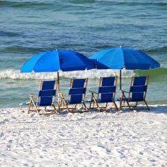 Beach Chairs And Umbrella Black Distressed Kitchen Chair Rentals Picture Of Sea Oats Motel Destin