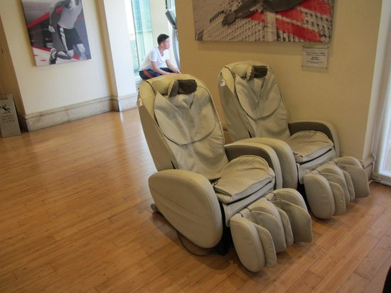 Massage Chairs  Picture of Eaton Hong Kong Hong Kong  TripAdvisor