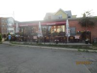 view of patio from parking lot - Picture of Staropolska ...
