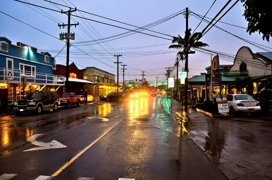 Paia Town in the rain Picture of Paia Bay Suites Paia