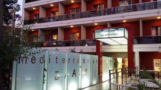 Baño - Picture of Mediterranean Bay Hotel, El Arenal ...