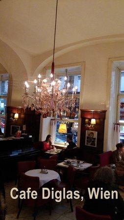 Dekoration  Bild von Caf Diglas Wien  TripAdvisor