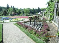 formal gardens at Biltmore mansion - Picture of Biltmore ...