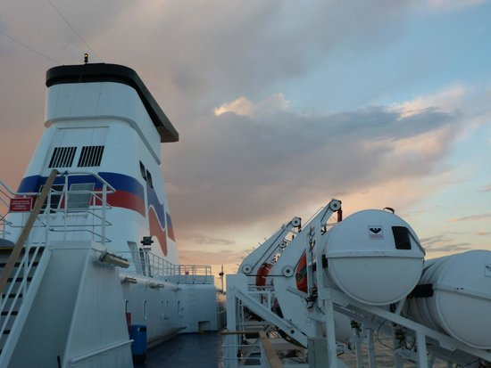 Top Deck Picture Of Brittany Ferries Plymouth Tripadvisor