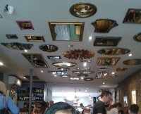 mirrors on the ceiling - Picture of Blue Legume, London ...