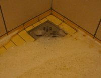 clogged shower drain flood - Picture of Rixos Sungate ...