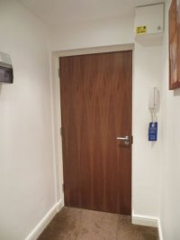 1 bedroom apartment front door - Picture of Luxe Serviced ...