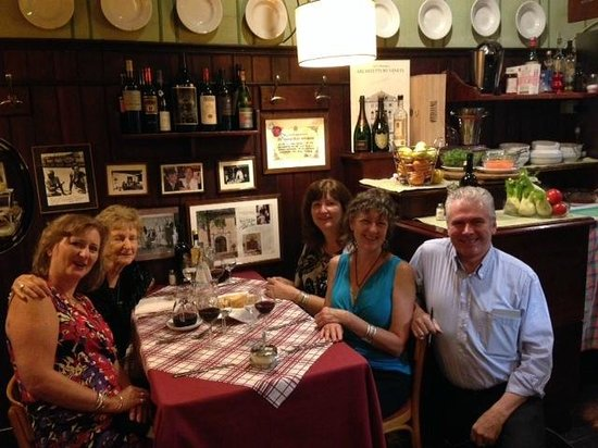 MotherSister Trip to Treviso with Toni del Spin owner