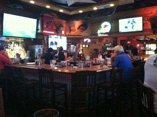 Bar area w TVs  Picture of Texas Roadhouse Phoenix  TripAdvisor