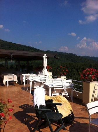 La terrazza  Foto di Il Belvedere La Terrazza di Nazzano Rivanazzano Terme  TripAdvisor