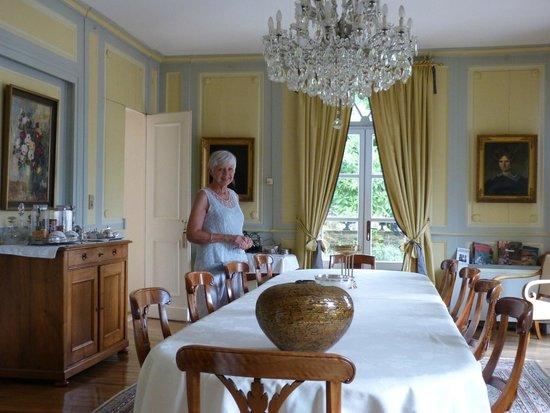 Salle Manger Et Table Dhte Photo De Chateau D