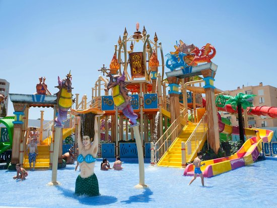 Katlantis Splash Park  Picture of Katmandu Park Magaluf