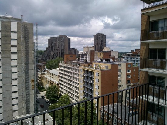 View from room  right  Picture of LAppartement Hotel Montreal  TripAdvisor