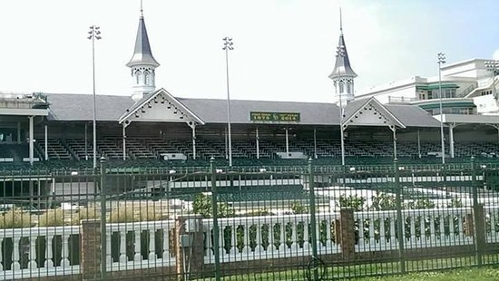 Infield viewing Picture of Kentucky Derby Museum