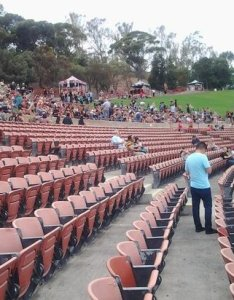 Irvine meadows amphitheatre tier seating and grass area also picture of rh tripadvisor