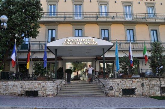 Grand Hotel Croce Di Malta Montecatini Terme Picture Of