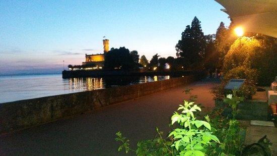 Abend Aud Der Terrasse Photo De Seevital Hotel Schiff