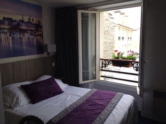 Room For Two Picture Of Hotel Saphir Grenelle Paris
