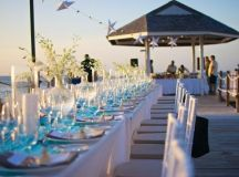 wedding reception at the pier - Picture of Sandals Ochi ...