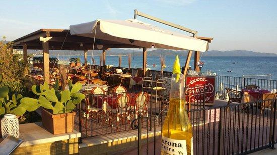 Terrazza pizzeria sul mare  Foto di Ristorante Bagno