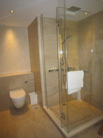 Gateway Hotel Marco Polo Hotels Bathroom With Rain Shower Shower Head