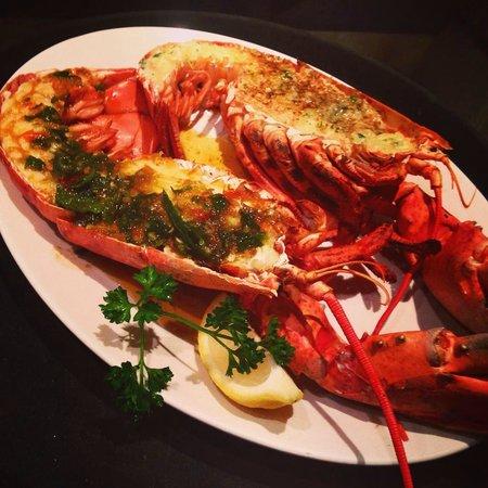 Image result for garlic lobsters