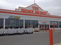 Timmins Subway inside Home Depot - Picture of Subway ...