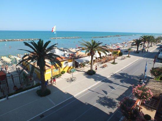 vista dal mare  Foto di Hotel Cristal Cupra Marittima  TripAdvisor