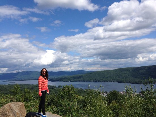 Prospect mountain is one of the most popular hikes in the lake george region at roughly three miles round trip. Great View Picture Of Prospect Mountain Lake George Tripadvisor