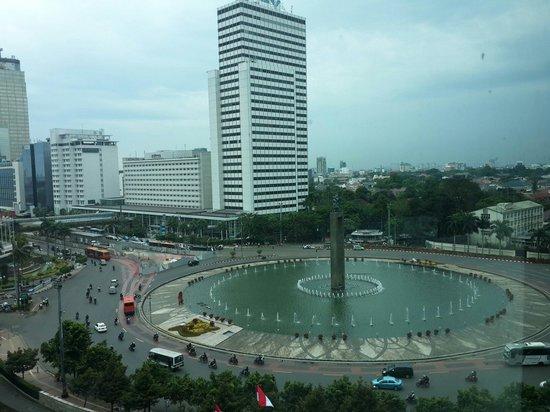 Bundaran Hi Dilihat Dari Kamar Picture Of Hotel Indonesia