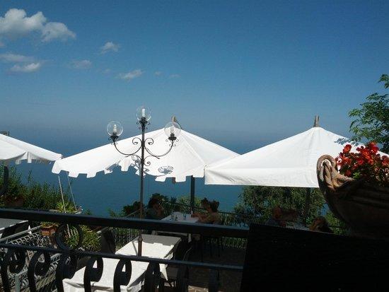 terrazza sul mare  Picture of Ristorante La Rupe Fiorenzuola di Focara  TripAdvisor