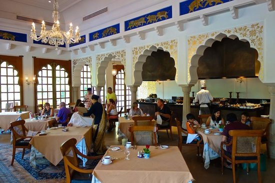 The Restaurant At Oberoi Rajvilas In Jaipur Picture Of The