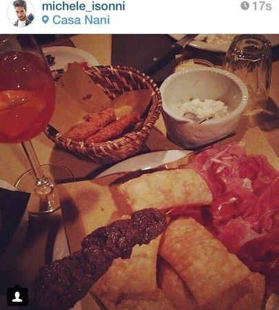 men gnocco fritto  Foto di Casa Nani Brescia  TripAdvisor