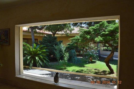 Giardino Interno Blocco Centrale Palmasera  Picture Of