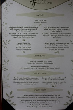 Menu Picture Of Valentin Imperial Maya Playa Del