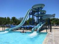 50 Meter, Olympic size, lap pool measuring 50 meters by 25 ...