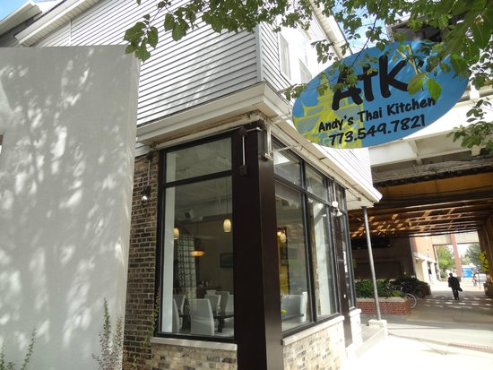 Inside ATK  Picture of Andys Thai Kitchen Chicago
