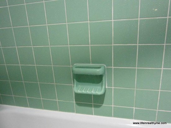loved this seafoam green tile picture